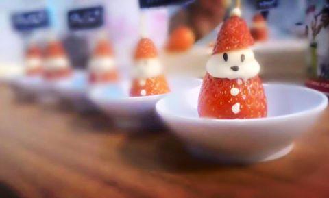 可愛的草莓聖誕雪人-直到送完為止
