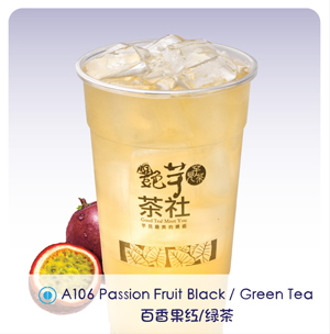 A106 - Passion Fruit Black / Green Tea