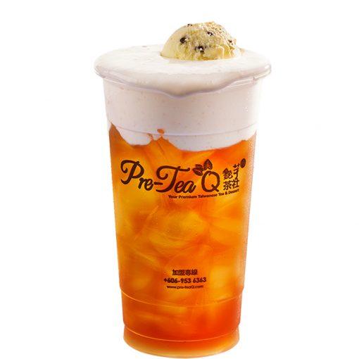 F104 - Black Tea Ice Cream Milk Float