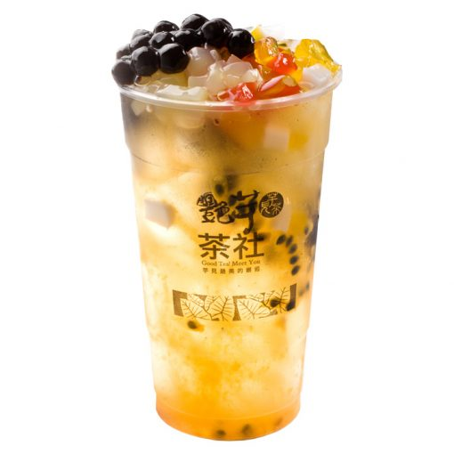 G101 - Passion Fruit GG Green Tea