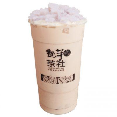 P101 - Pre-Tea Yam Q Milk Tea