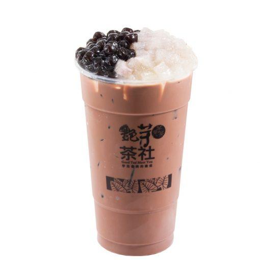 P106 - Pre-Tea DoubleQ Hazelnut Chocolate Milk Tea